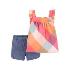 Child of Mine by Carter's Baby Girls & Toddler Girls Tank Top & Shorts, 2pc Outfit Set (12M-5T) - Code Interno: 104