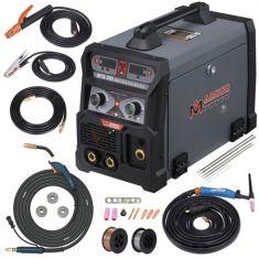 MTS-205, 205 Amp MIG TIG-Torch Stick Arc Combo Welder, Weld Aluminum, 110/230V Dual Voltage Welding - Code Interno: 819