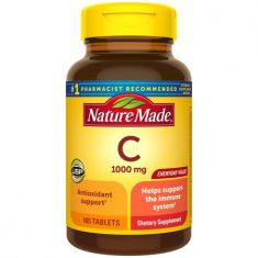 Nature Made Vitamin C 1000 mg Tablets, 105 Count to Help Support the Immune System - Code Interno: 850