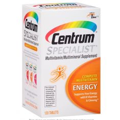 Suplemento multivitamínico completo Centrum Specialist Energy