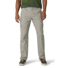Wrangler - Pantalón de carga para hombre de sarga clásica